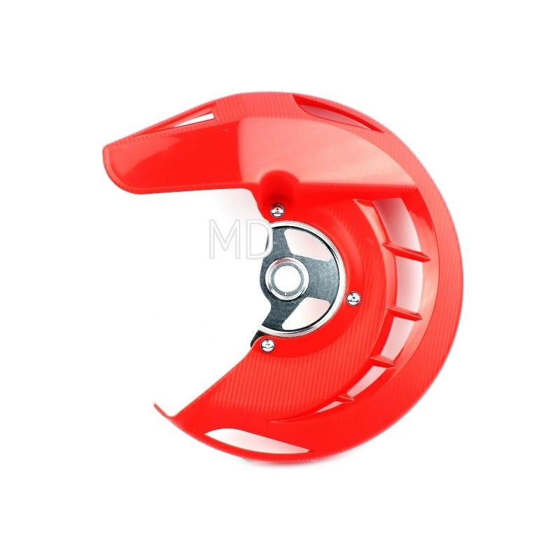 282-FDG01 Front Brake Disc Protector-Red CR/CRF